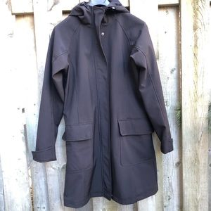 Joe Fresh Black Rain Jacket/ Rain Coat